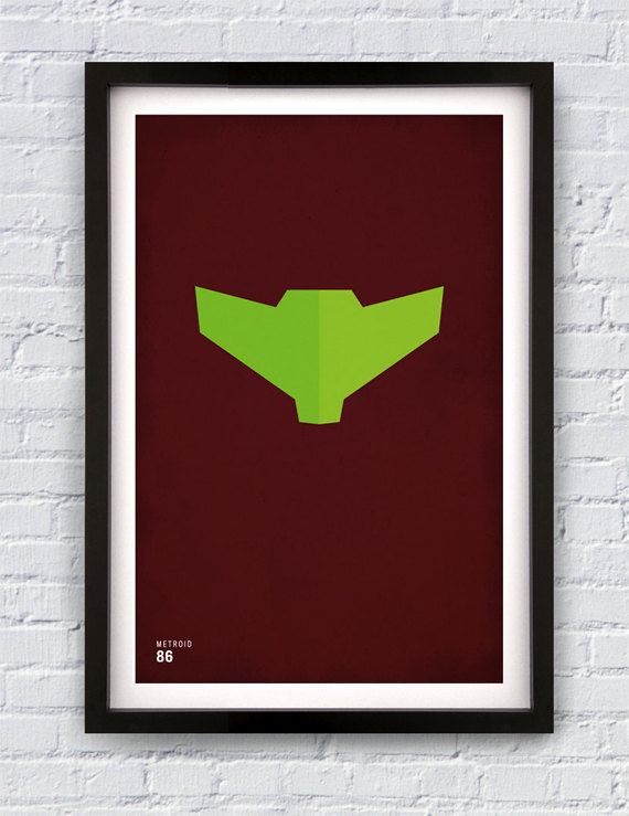 metroid poster joseph harrold poster etsy.com screen prints