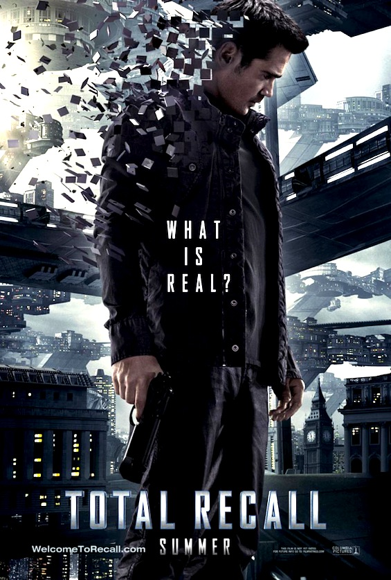 total recall 2012 poster august release date summer colin ferell