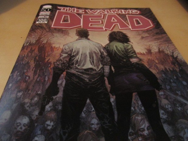 the walking dead amc robert kirkman zomibes issue 100 tv show